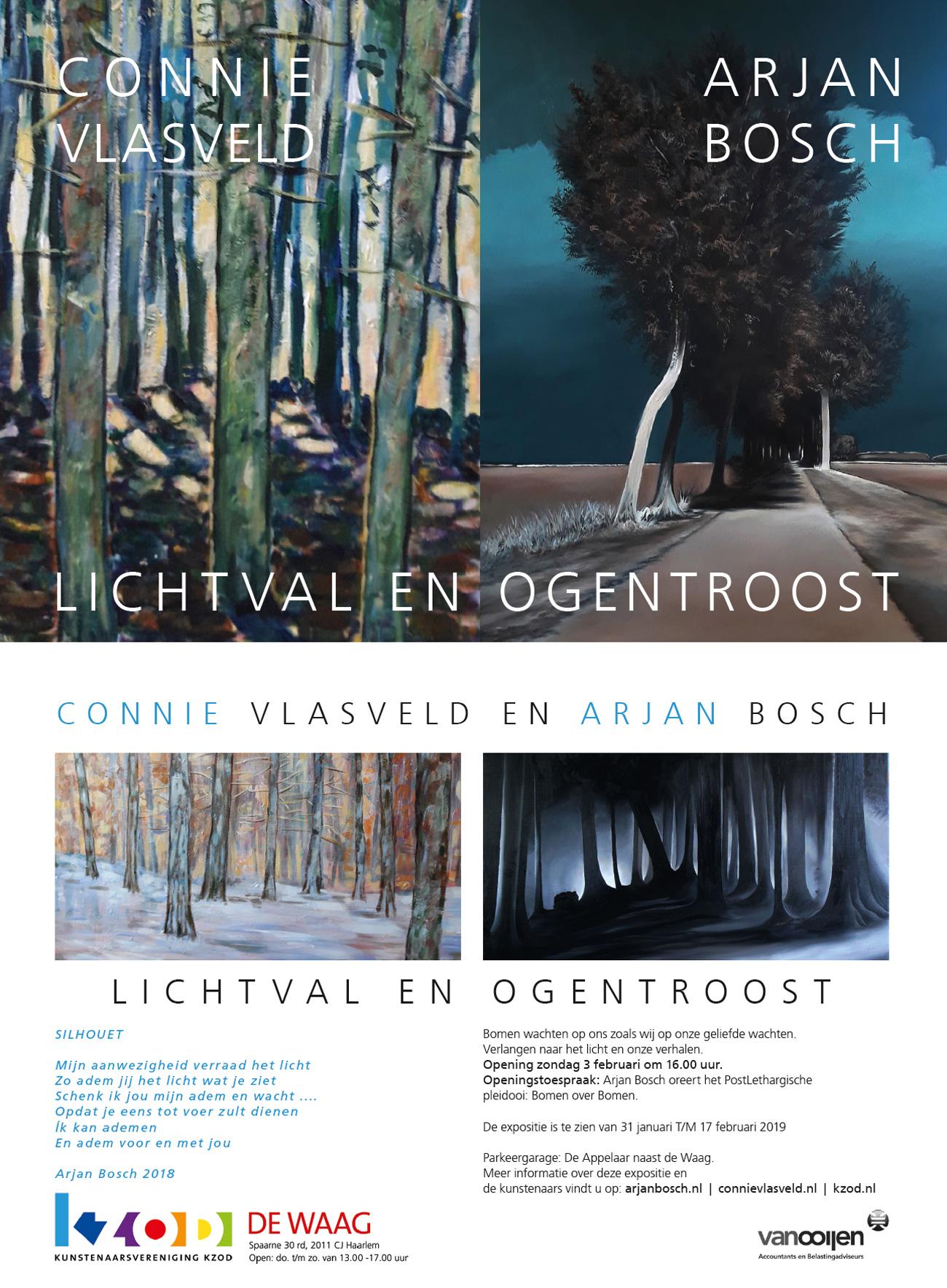 Expositie Connie Vlasveld  en Arjan Bosch | LICHTVAL EN OGENTROOST