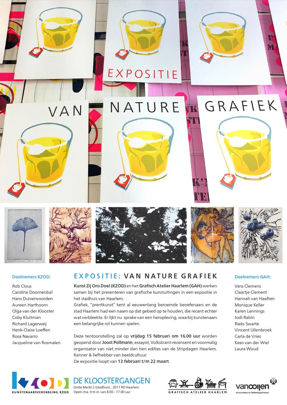 Expositie Van Nature Grafiek
