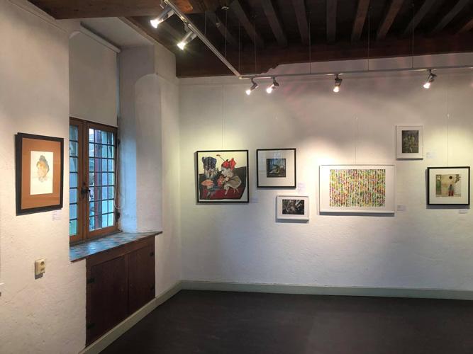 Foto's opening expositie Nieuwe leden 2018