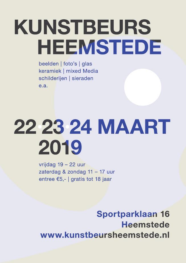 Kunstbeurs Heemstede | 22 – 23 – 24 maart 2019