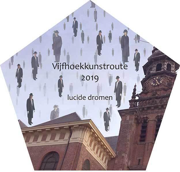 17 mei 2019 opening 14 editie van de Vijfhoekkunstroute!