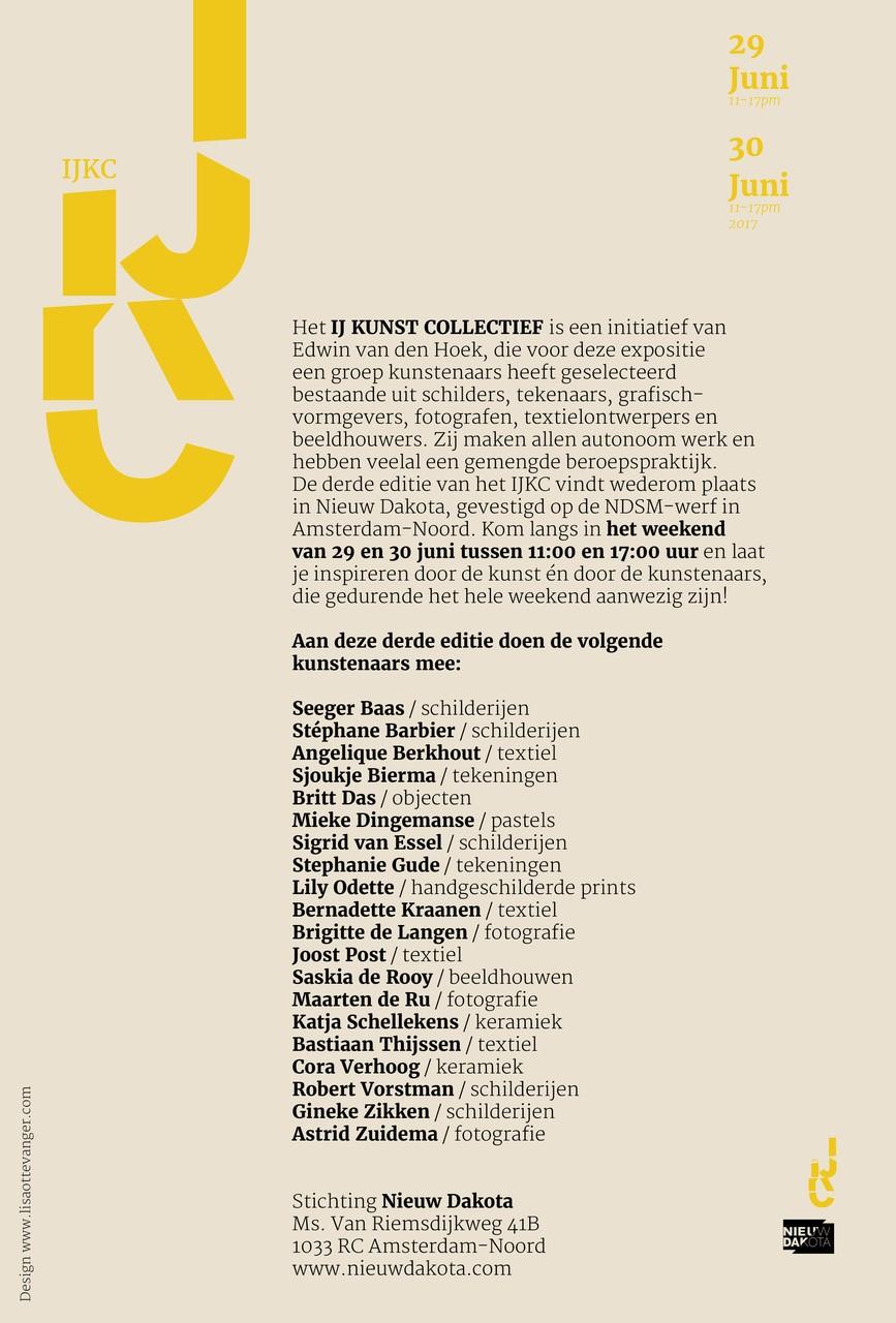 Cora Verhoog neemt deel aan expositie van het IJ Kunst Collectief
