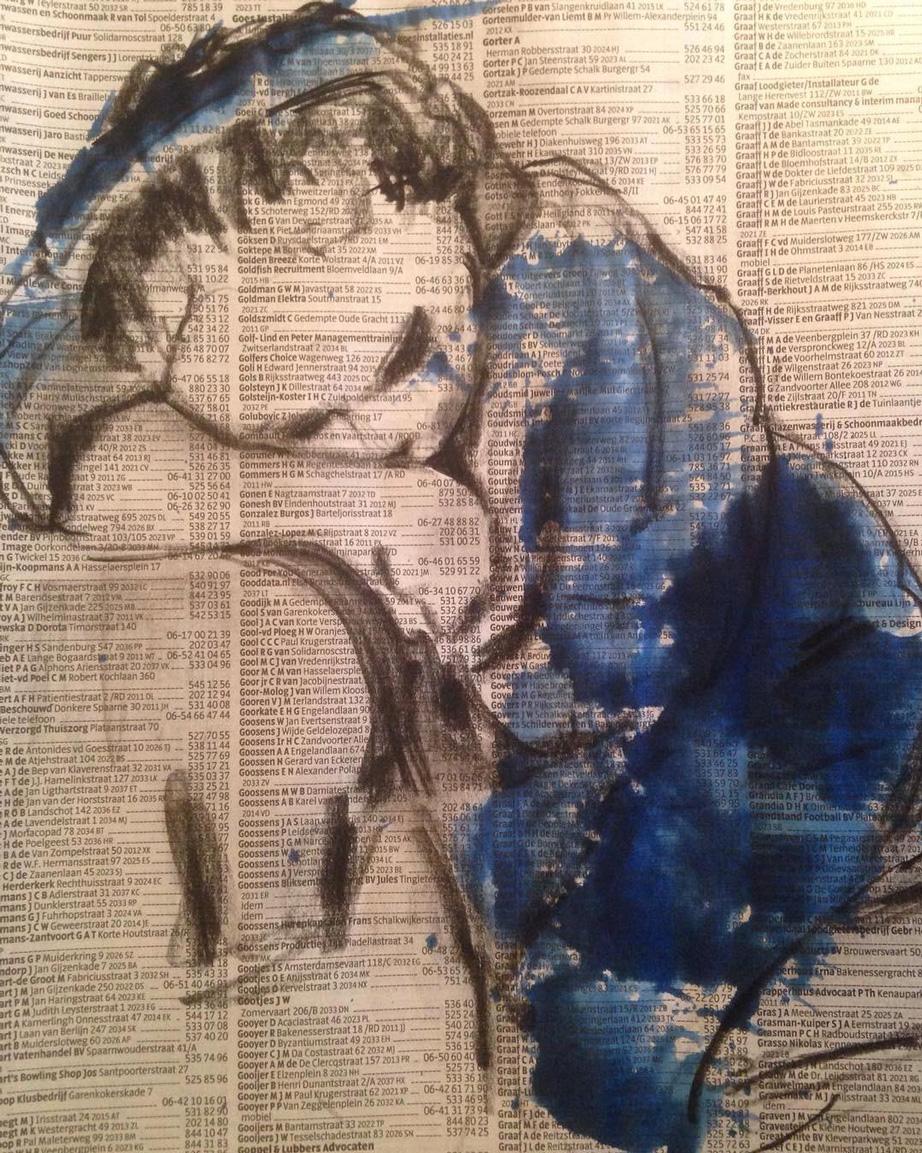 Slapend Meisje van Hans Duivenvoorden haalt expositie Lang Leve Rembrandt