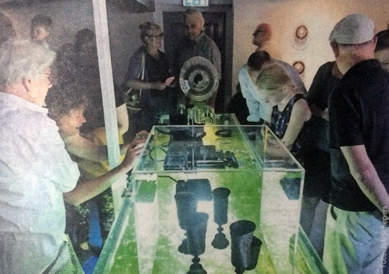 Olga van der Klooster exposeert op Texel met kunstenaars van kunstenaarsvereniging ZOUT