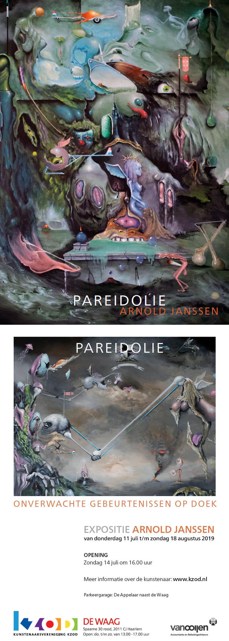 Arnold Janssen | PAREIDOLIE