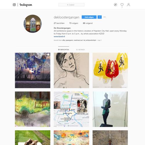 KZOD te volgen op Instagram