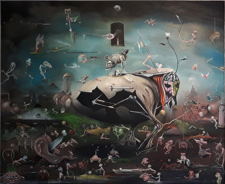 Arnold Janssens fantasiewereld in de Waag