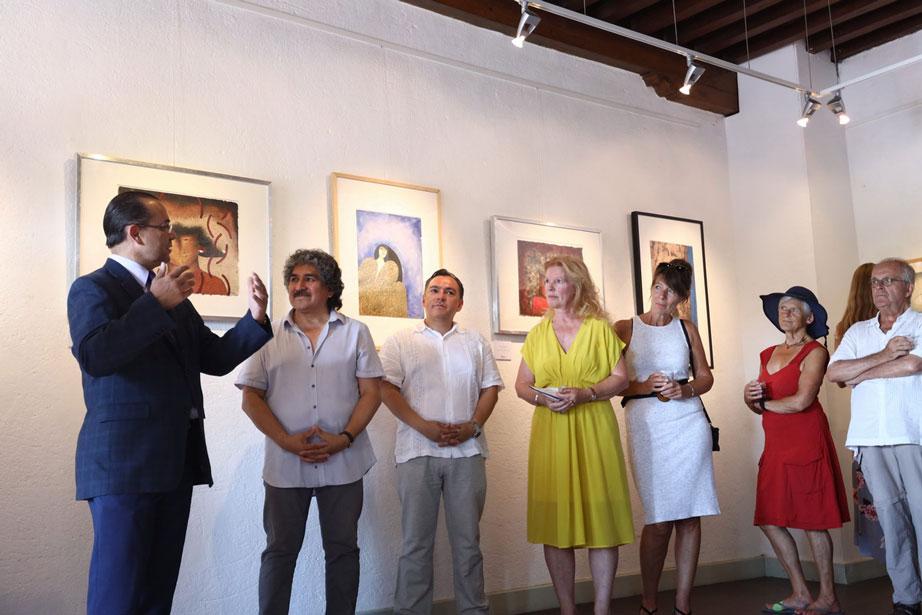 Opening expositie Emilio Sanchez Diaz