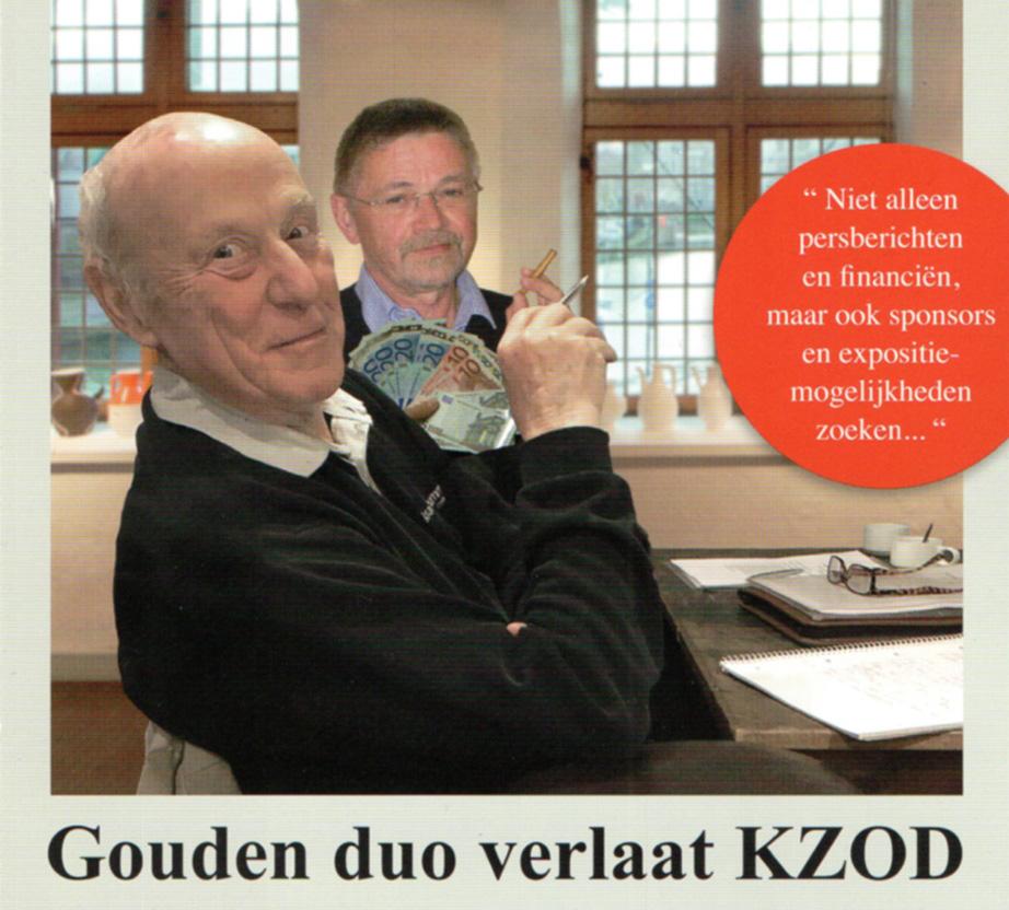 Gouden duo verlaat KZOD