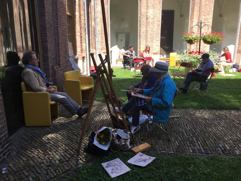 Open Monumentendagen 2019 | Place du Tértre in de Kloostergangen en de Waag