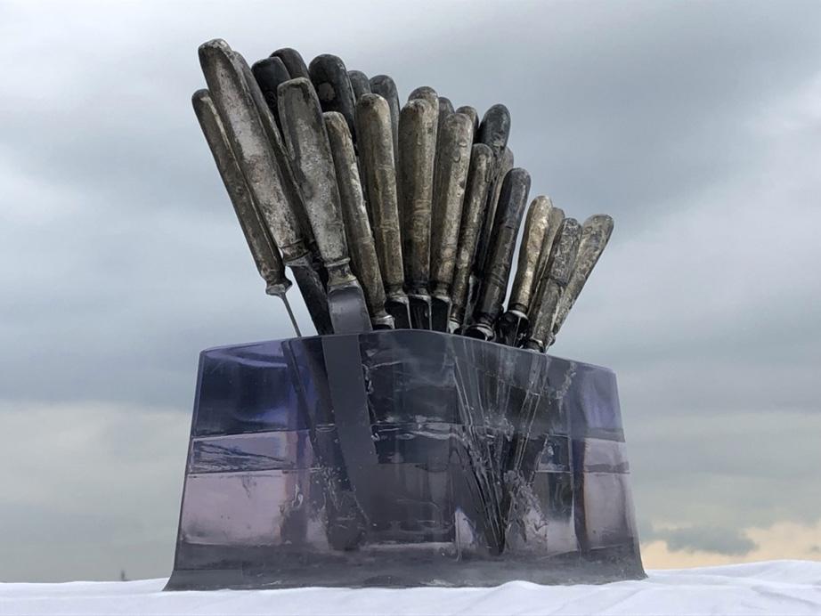 Annelies van Nieuwmegen  exposeert tijdens Kunstlijn 2019 in het Raadhuis van de Kunst