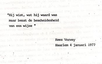 Toespraak Kees Verweij bij eretentoonstelling ter gelegenheid van 100ste geboortedag van H.F. Boot