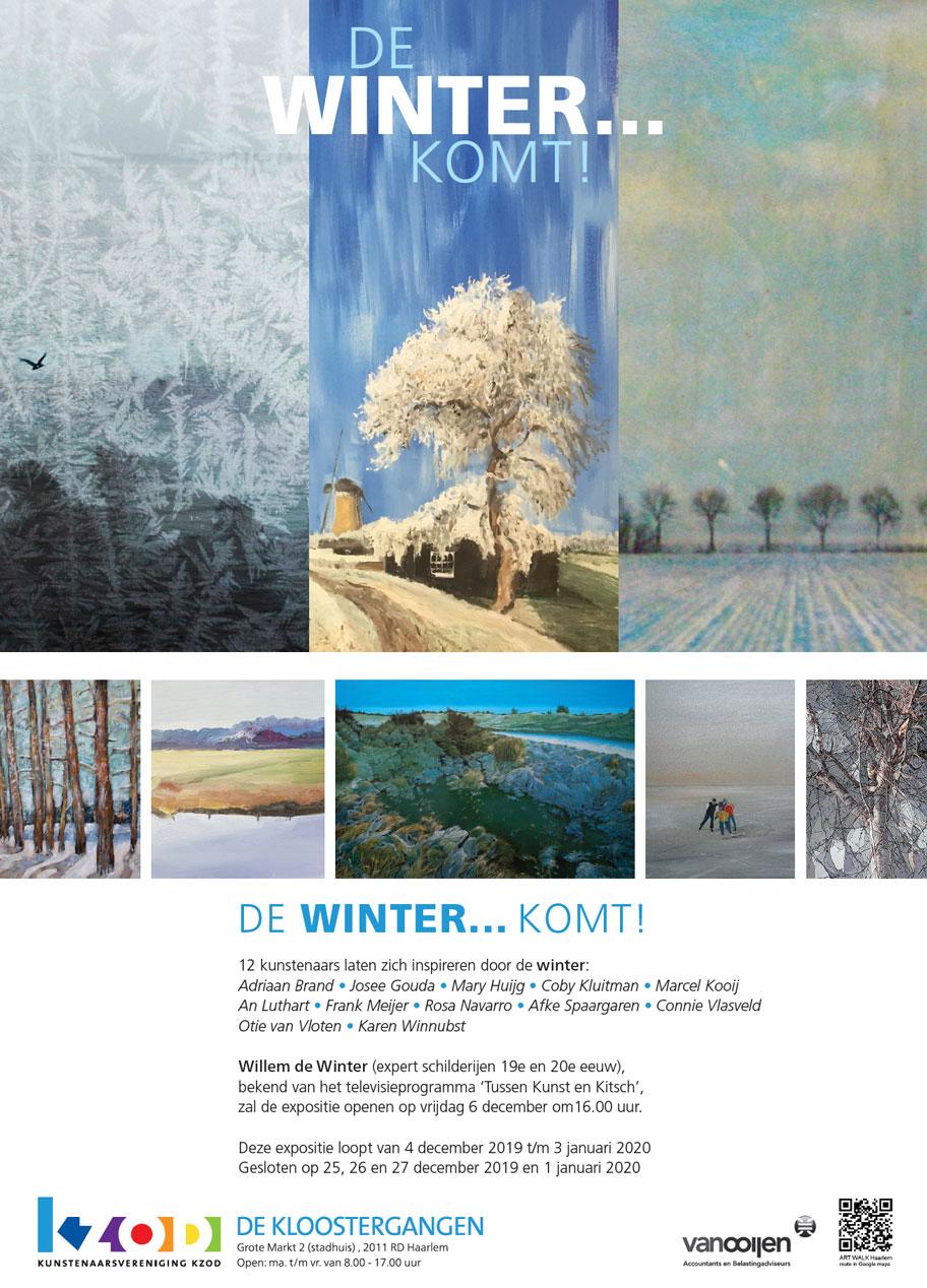 Expositie DE WINTER … KOMT!
