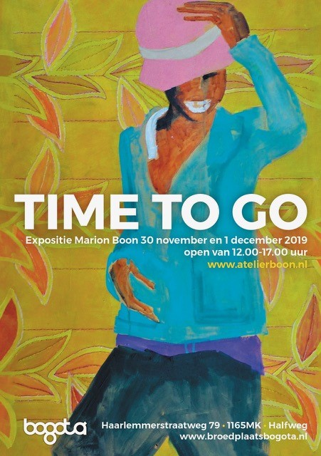 Marion Boon – expositie TIME TO GO