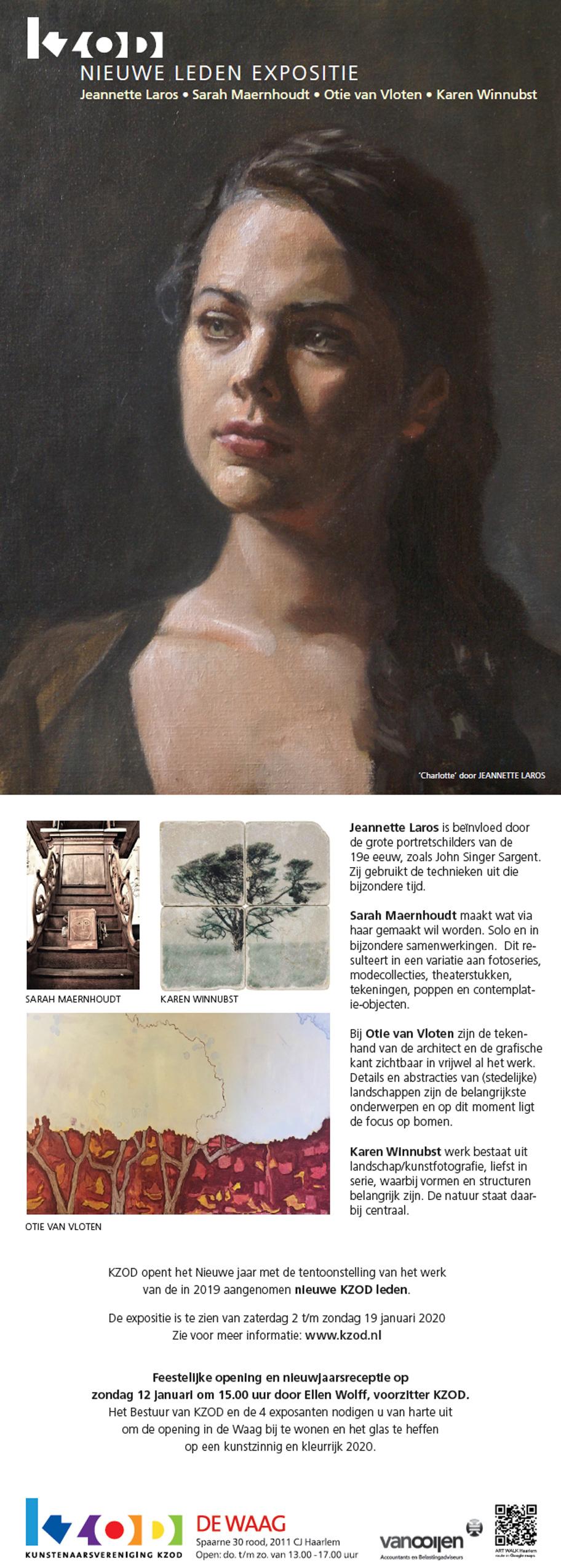 Expositie de Waag | Nieuwe leden 2019