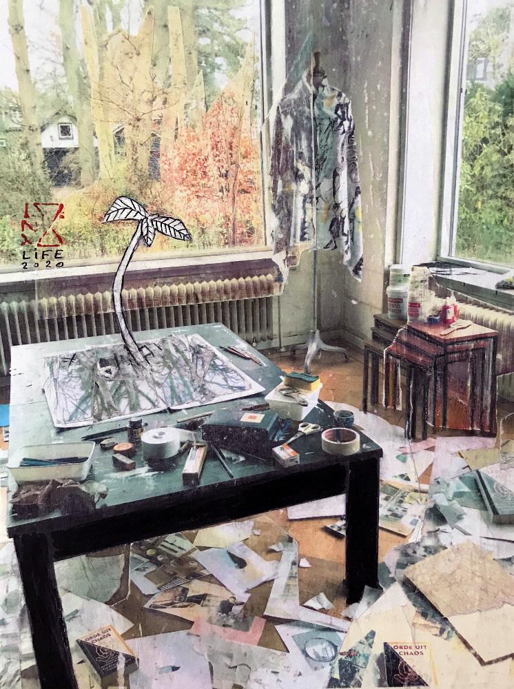 'Wat betekent kunst voor jou?' Vraagt Larissa Neslo zich af