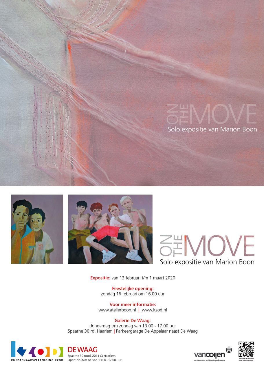 Expositie De Waag | MARION BOON | ON THE MOVE