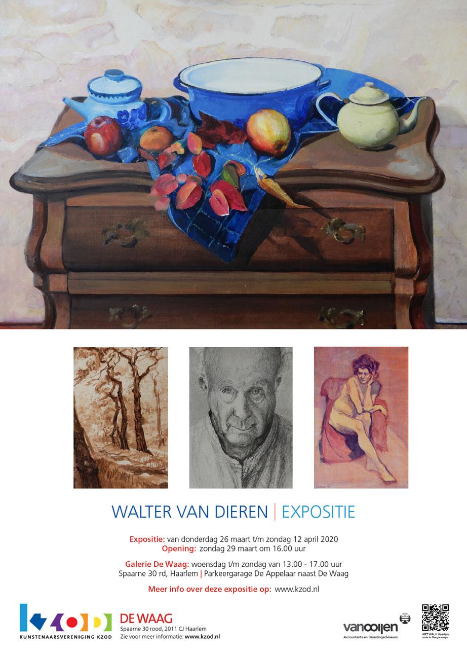 Expositie De Waag | Walter van Dieren