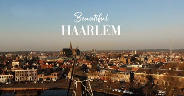 Een lege lente in een stil 'Beautiful Haarlem'