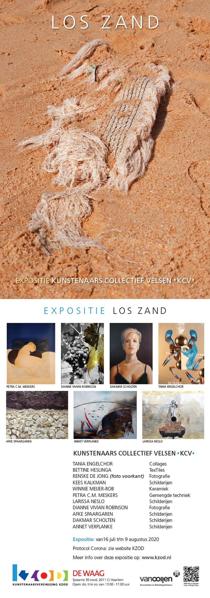 Expositie De Waag | KCV Los Zand