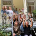 19 KZOD exposanten bezoeken hun expositie in Bad Pyrmont