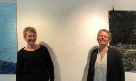 'Bewijzen zoeken voor je bestaan', Duo-tentoonstelling in De Waag van Aureen Harthoorn en Miriam de Koning