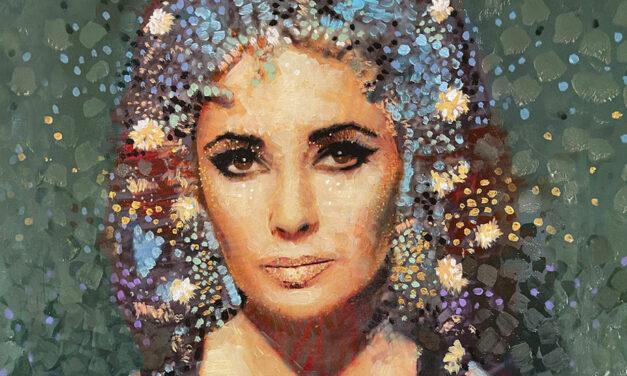 Astrid Keijser neemt deel aan expositie over Elizabeth Taylor in de GoGallery Amsterdam