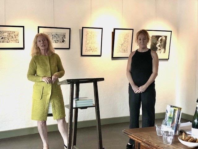 Foto impressie opening expositie Nieuwe Leden 2021 in De Waag