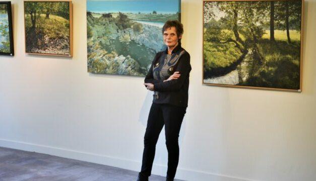 An Luthart exposeert met 'Het stille groen' op Kasteel Groeneveld